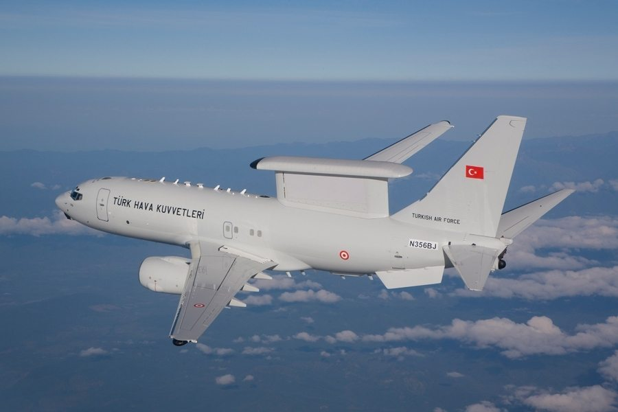 Boeing delivers final Peace Eagle AEW&C aircraft to Turkey