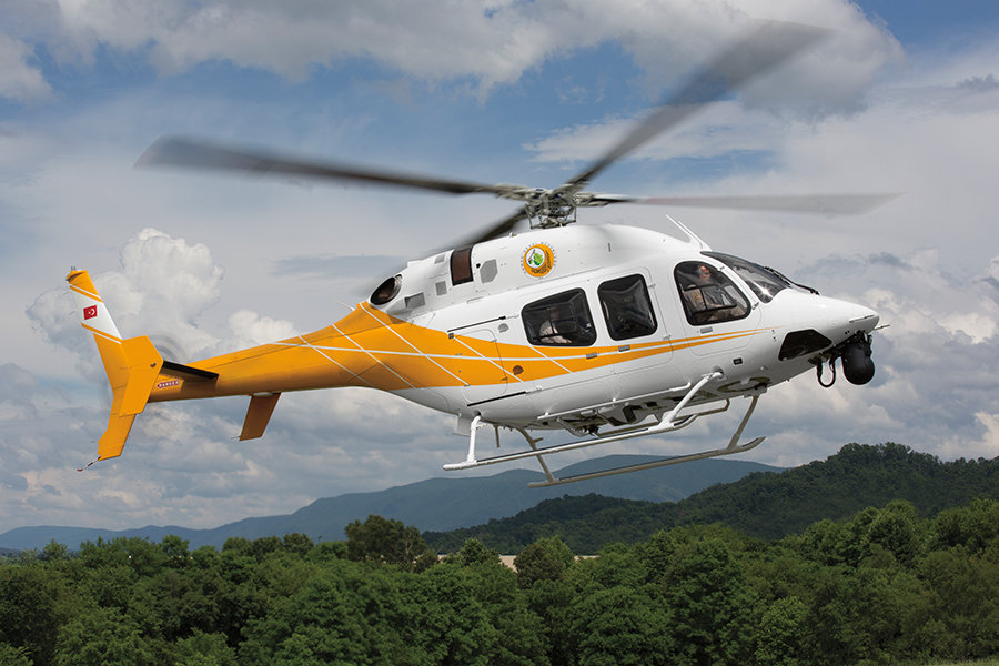 Bell 429 fleets reach 95 percent operational availability rate in Turkey